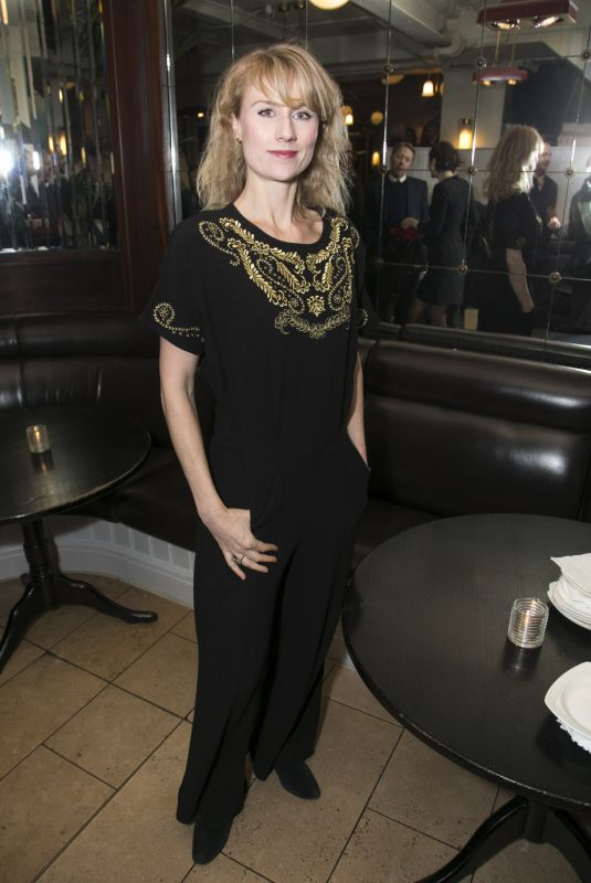 JESSICA SWALE at Long Days Journey into Night Play After-party in London 02/06/2018