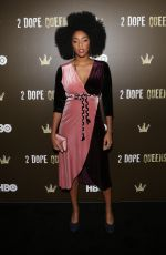 JESSICA WILLIAMS at 2 Dope Queens NYC Slumber Party Premiere in New York 01/31/2018