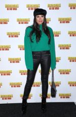 JESSICA WRIGHT at Dinosaurs in the Wild Exhibition in London 02/13/2018