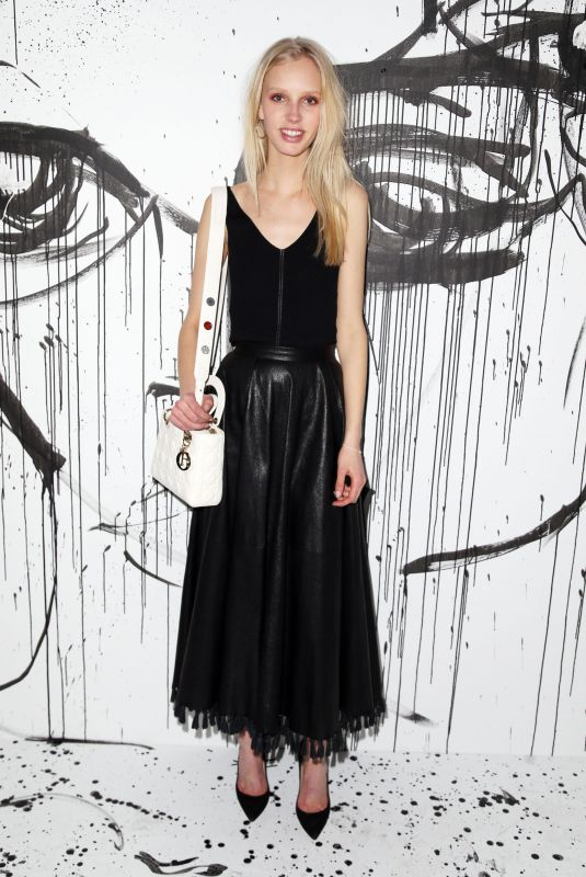 JESSIE BLOEMENDAAL at Dior Collection Launch Party at Spring/Summer 2018 New York Fashion Week 02/06/2018