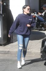 JESSIE J Out and About in Los Angeles 02/21/2018
