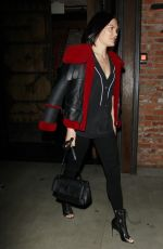 JESSIE J Out for Dinner at Taoo in Los Angeles 02/20/2018