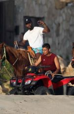 JESSIE J Riding a Horse in Cabo San Lucas 02/19/2018