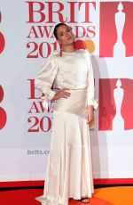 JESSIE WARE at Brit Awards 2018 in London 02/21/2018