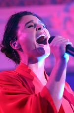 JESSIE WARE Performs at Bush Hall on the War Child Campaign at Brits Week in London 02/12/2018