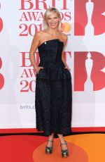 JO WHILEY at Brit Awards 2018 in London 02/21/2018