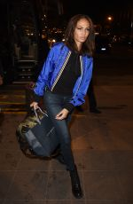 JOAN SMALLS at Malpensa Airport in Milan 02/25/2018