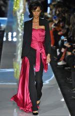 JOAN SMALLS at Moschino Runway Show at Milan Fashion Week 02/21/2018