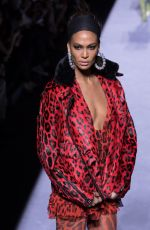 JOAN SMALLS at Tom Ford Fashion Show in New York 02/08/2018