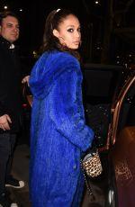 JOAN SMALLS Leaves Her Hotel in Milan 02/22/2018