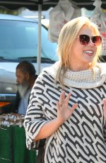 JODIE SWEETIN Shopping at Farmers Market in Studio City 02/25/2018