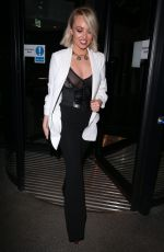 JORGIE PORTER Arrives at Fabulous Magazine 10th Birthday Party in London 02/06/2018