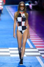 JOSEPHINE SKRIVER at Tommy Hilfiger Spring/Summer 2018 Runway Show in Milan 02/25/2018