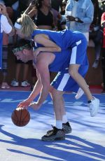 JOSIE CANSECO at Chacha x Foxx Charity Celebrity Basketball in Thousand Oaks 02/17/2018