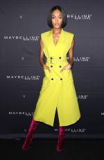 JOURDAN DUNN at Maybelline New York x V Magazine Fashion Week Party in New York 02/11/2018