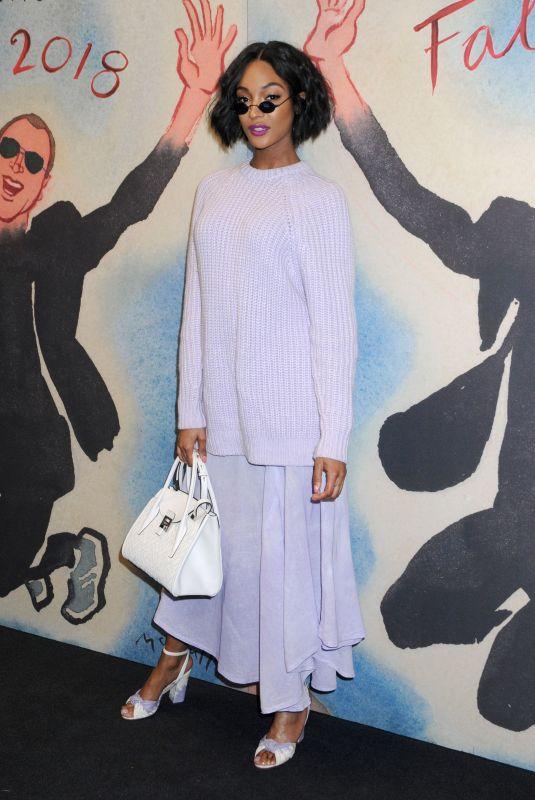 JOURDAN DUNN at Michael Kors Show at New York Fashion Week 02/14/2018