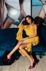 JOURDAN DUNN at Solid & Striped Swimteam Launch in New York 02/06/2018