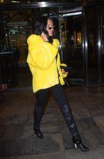 JOURDAN DUNN Leaves Her Hotel in New York 02/11/2018