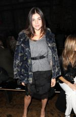 JULIA RESTOIN at Zadig & Voltaire Show at New York Fashion Week 02/12/2018
