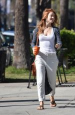 JULIANNE HOUGH Out and About in Beverly HIlls 02/17/2018