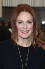 JULIANNE MOORE at Tory Burch Fall/Winter 2018 Fashion Show in New York 02/09/2018