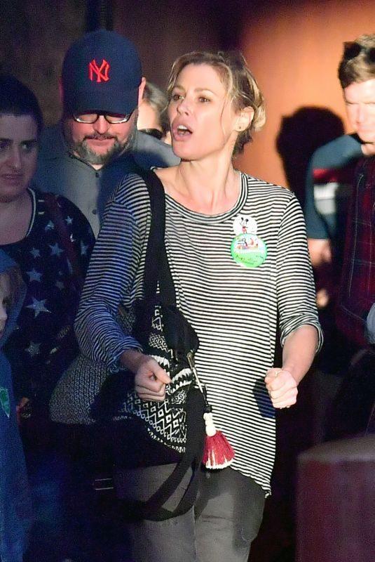JULIE BOWEN Out at Disneyland in Anaheim 02/04/2018