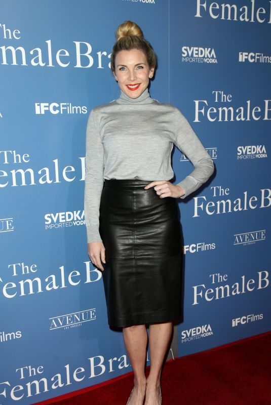 JUNE DIANE RAPHAEL at The Female Brain Premiere in Los Angeles 02/01/2018