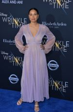JURNEE SMOLLETT-BELL at A Wrinkle in Time Premiere in Los Angeles 02/26/2018