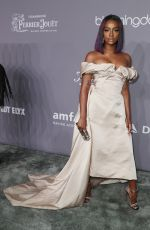 JUSTINE SKYE at Amfar Gala 2018 in New York 02/07/2018