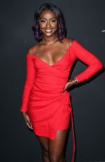 JUSTINE SKYE at GQ All-Star Party in Los Angeles 02/17/2018