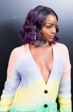 JUSTINE SKYE at Zadig & Voltaire Show at New York Fashion Week 02/12/2018