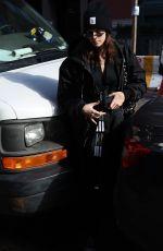 KAIA GERBER Arrives at Mercer Hotel in New York 02/08/2018