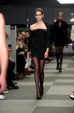 KAIA GERBER at Alexander Wang Runway Show at New York Fashion Week 02/10/2018