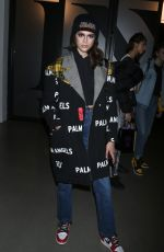 KAIA GERBER at Anna Sui Fall/Winter 2018 Fashion Show at NYFW in New York 02/12/2018