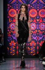 KAIA GERBER at Anna Sui Runway Show at New York Fashion Week 02/12/2018
