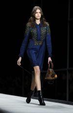 KAIA GERBER at Bottega Veneta Catwalk at New York Fashion Week 02/09/2018