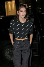 KAIA GERBER at Jimmy Choo + Off-white Event in New York 02/11/2018
