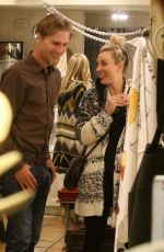 KALEY CUOCO and Karl Cook Shopping for Valentine