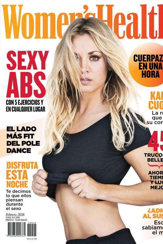 KALEY CUOCO in Women's Health Magazine, Chile February 2018