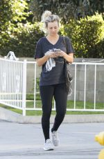 KALEY CUOCO Leaves a Office Building in Los Angeles 02/06/2018