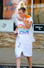 KALEY CUOCO Leaves Yoga Class in Los Angeles 02/12/2018