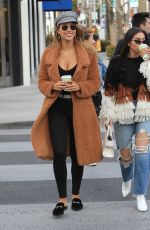 KARA DEL TORO Out Shopping in Beverly Hills 02/27/2018