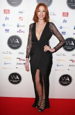 KARA LILY HAYWORTH at Whatsonstage Awards in London 02/25/2018