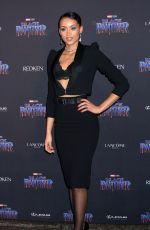 KARA MCCULLOUGH at Black Panther Welcome to Wakanda NYFW Showcase in New York 02/12/2018