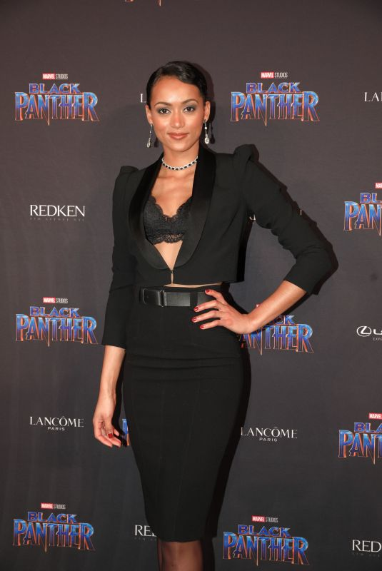 KARA MCCULLOUGH at Black Panther Welcome to Wakanda NYFW Showcase in New York 02/12/2018