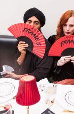 KAREN ELSON at Frame Fifth Anniversary Dinner in New York 02/10/2018
