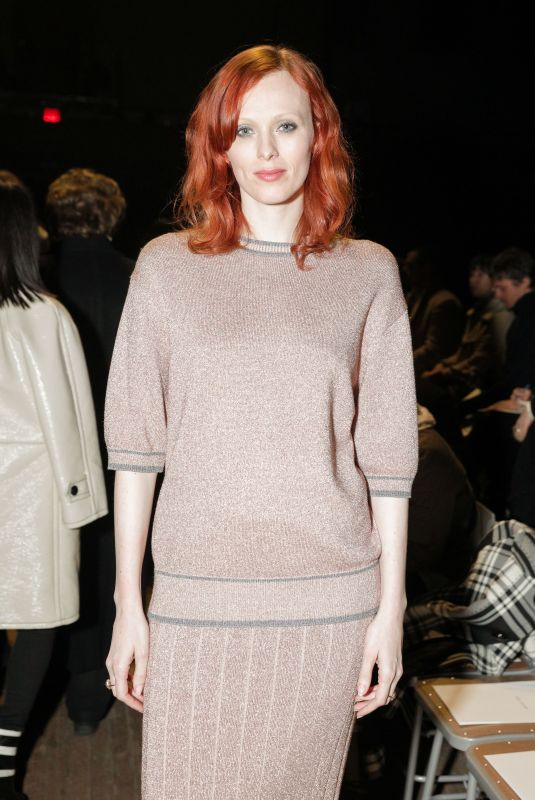 KAREN ELSON at Marc Jacobs Fashion Show at NYFW in New York 02/14/2018