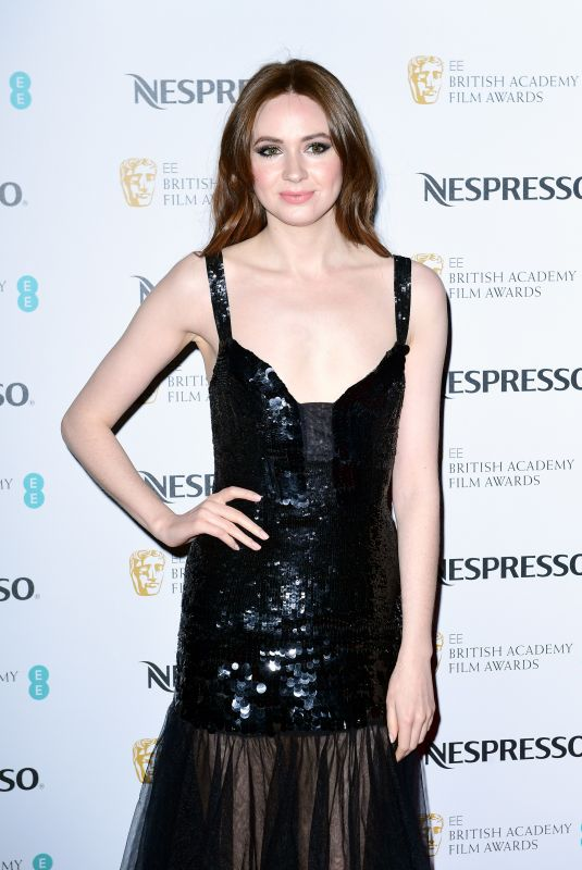 KAREN GILLAN at Bafta Nominees Party in London 02/17/2018