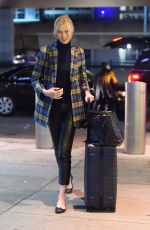 KARLIE KLOSS Arrives at JFK Airport in New York 02/15/2018
