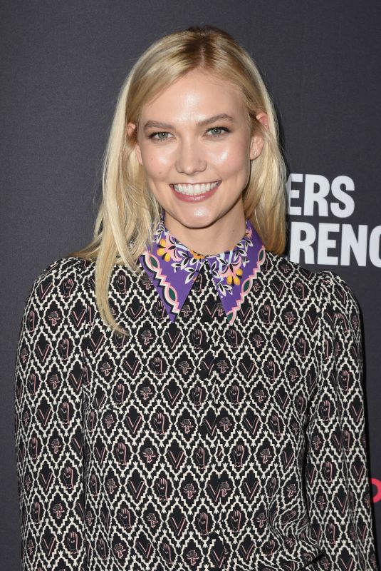 KARLIE KLOSS at 2018 Makers Conference at Neuehouse Hollywood in Los Angeles 02/06/2018